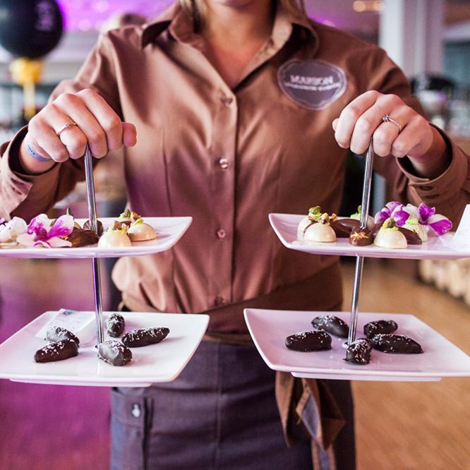 Neem contact op met Marielle Bijnen van Marbon Chocolade Events
